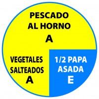 Pescado Vegetales Papa